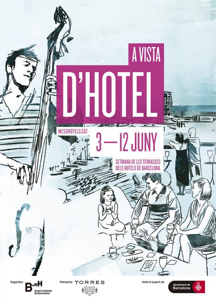Cartell Havaneres a vista d'hotel