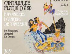 Havanerus_Cartell XXXIV Cantada d'havaneres i cançó de taverna de Platja d'Aro