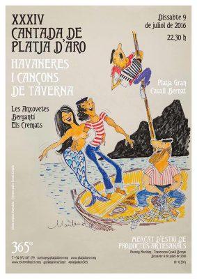 Havanerus_Cartell XXXIV Havaneres i cançó de taverna de Platja d'Aro