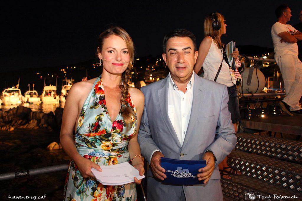 Ivana Miño i Francesc Sánchez Carcassés