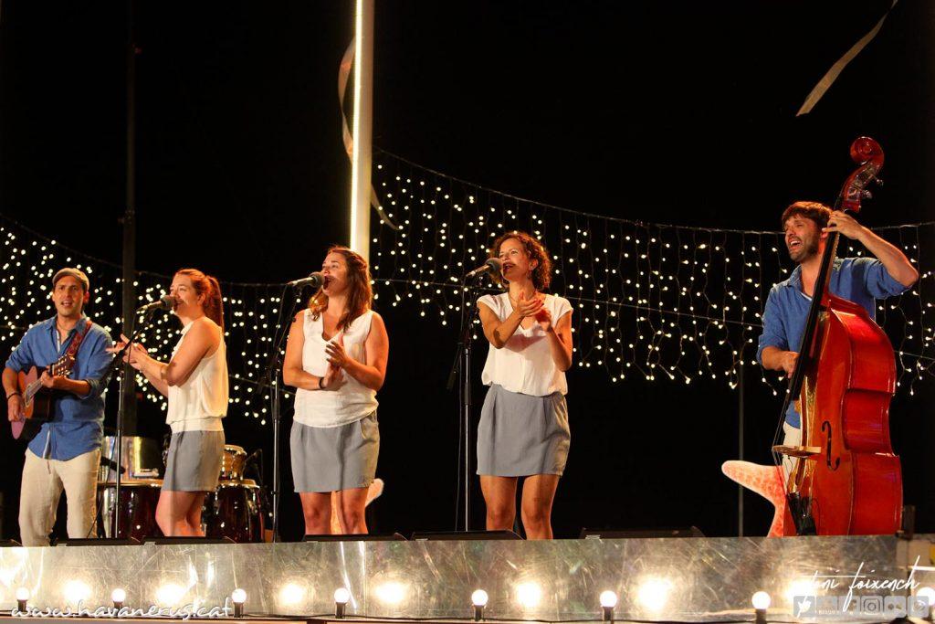 Les Anxovetes, a la 51 cantada d'Havaneres de Calella de Palafrugell