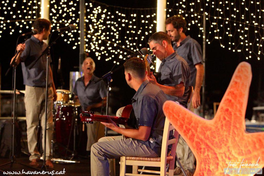 Els Cremats, a la 51 cantada d'Havaneres de Calella de Palafrugell