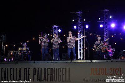 Els Cremats, 54º cantada d'havaneres de Calella de Palafrugell